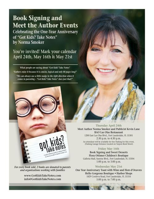 Meet the author events