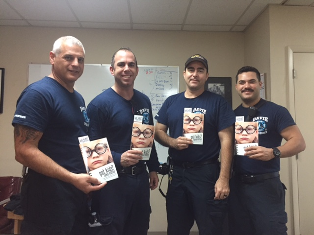 More firefighters receiving book this season!
